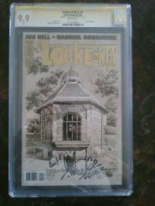 Locke & Key # 4 CGC 9.9 White Pages SS Gabriel Rodriguez