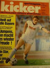 Kicker 1985 , Nr.38 , Titelstory VfL Bochum , Eintracht Braunschweig