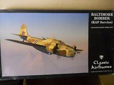 1/48 Classic Airframes Martin Baltimore RAF  Desert Air Force Bomber + Eng Cowls