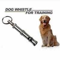 Pet Training Ultrasonic Sound Key Chain Dog Whistle Make Dog Stop Barking AU