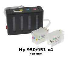 CISS HP950 / HP951 x4 cartouches - Encre Continue DLX non-oem VIDE