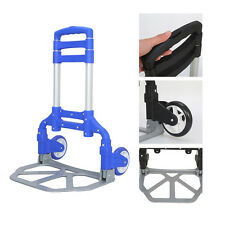Portable Folding Hand Truck Dolly Utility Cart 170 lbs Load Capacity US Stock