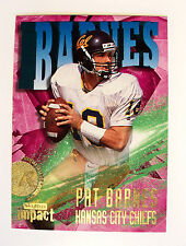 1997 OFFICIAL SKYBOX IMPACT ROOKIE #211 PAT BARNES - COMIC GRAPHICS - MINT