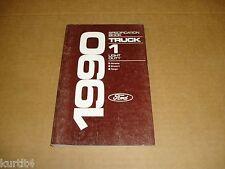 1990 Ford truck Ranger Bronco II Aerostar Van service specification shop manual