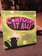 Compound It All Ever Changing Word Game By Lee & Low Games NIB Sealed