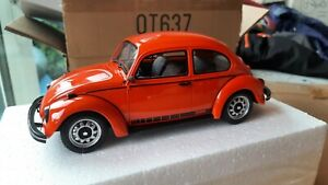 Rare Otto OT637  VW Volkswagen Beetle 1200 Jeans Orange #750 1:18 Type 1