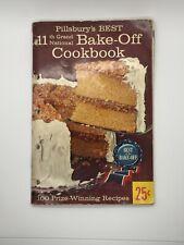 Vintage Pillsbury's Best 11th Grand National Bake-Off Cookbook 1959 100 Recipes