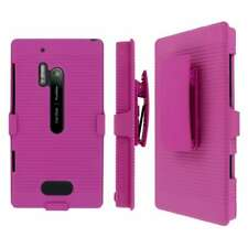 MPERO Collection 3 in 1 Tough Hot Pink Kickstand Case for Nokia Lumia 928