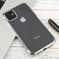 Apple iPhone 11 Electroplating TPU Anti-Drop Waterproof Protect Case in Silver