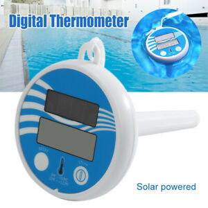 Thermometer Schwimmring Pool Schwimmbad Wassertemperatur Poolthermometer #lo