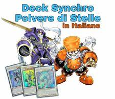 Yu-Gi-Oh! Deck Completo - Synchro Polvere di Stelle ITALIANO 40 Carte + Extra