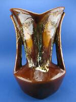 Vallauris Keramik Vase 370 70er Neo Jugendstil Laufglasur french pottery ceramic