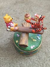 Disney Winnie The Pooh Sunny Days Music Box A7335 Hunny Of A Day
