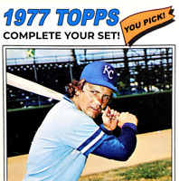 1977 Topps Baseball Cards | Cond. Range: EX to NM+ | Complete Ur Set, You Pick!