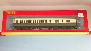 """Hornby R4681A GWR Collett Corridor Brake 3rd (LH) Coach """"4942"""" NEW"""