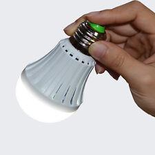 7W E27 LED Emergency Light Rechargeable LED Bulb 85-265v for Home Flashlight Lam