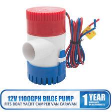 12V Bilgenpumpe 1100 GPH Boot Lenzpumpe Submersible Tauchpumpe Wasserpumpe