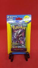 Pokemon Sun & Moon Blister Pack With 2 Mini Booster Packs and Bonus Card DG