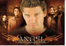 ANGEL SEASON THREE PROMOTIONAL CARD A3-WW2002 WIZARD WORLD