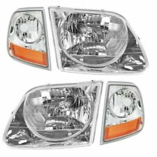 FIT FOR 1999 2000 2001 2002 2003 FD F-150 HEADLIGHT & CORNER LAMP RIGHT & LEFT