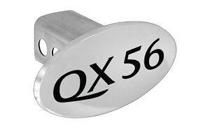 Infiniti Qx56 Logoed Trailer Hitch Cover Plug Emblem