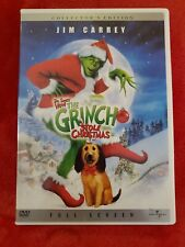 How the Grinch Stole Christmas (Dvd, 2001, Full Frame) Jim Carrey Dr Seuss