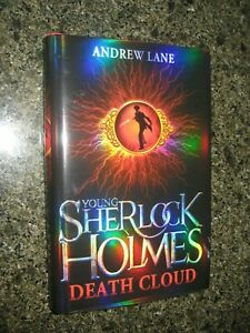 Signed & Numbered Hardback First Edition Death Cloud by Andrew Lane