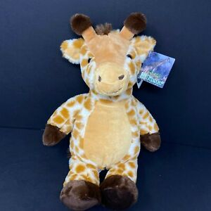 "Fiesta Giraffe Plush Brown Hands Feet Tan Tummy 16"" Stuffed Animal Lovey NWT"