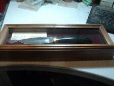 NOS Harley-Davidson Custom Buck Knife V Twin Series III panhead Knife #0016/3000