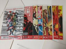 Avengers comic lot Uncanny Avengers 1-8 NM Bagged and Boarded