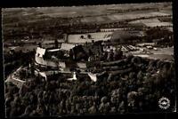 Coburg Bayern Ansichtskarte 1957 gelaufen Blick auf die Veste Coburg Luftbild