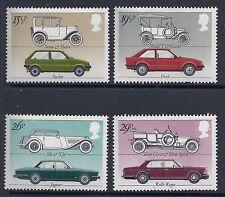 1982 GB BRITISH MOTOR CARS FINE MINT SET OF 4 MNH/MUH SG1198-SG1201