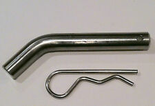 New Stainless Steel Hitch Pin RV Trailer Camping ATV Truck Motorcycle Boat Tow