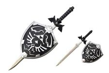 Legend of Zelda Twilight Princess Link Master Sword & Hylian Shield Wall Hanger