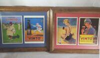 Vintage VIMTO Framed Advertisement Prints