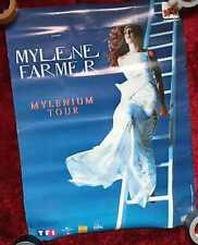 Mylène Farmer special affiche/poster MERCHANDISING TOUR 1999/2000 MYLENIUM 50X70
