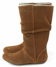 Patagonia Womens Maha Slouch Snow Boot Suede Waterproof Brown Thatcher Size 8.5