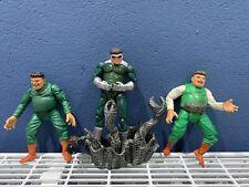 """Doctor Octopus Doctor Octopus Marvel Legends 6"""" figure lot + DIORAMA-Spiderman Toybiz"""