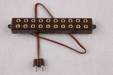 """Verteilerleiste mit Anschlusskabel,  10 Anschlüße für Stecker (2,6mm)   """"NEU"""""""