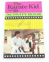 The Karate Kid Part III 3 Activity Book Cobra Kai 1989