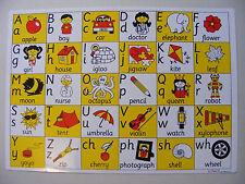 Inspirational Classrooms, Pack of 5 A3 Alphabet Mats, Edtech 3050009