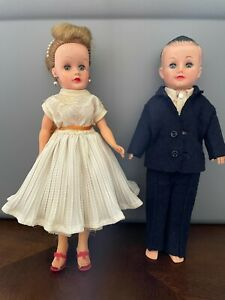 Vintage 1950s Vogue - Jan and Jeff Dolls - Great Condition