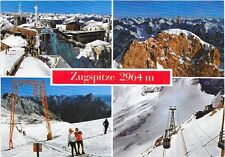 Zugspitze 2964 m Bermany Highest Peak Post Card.