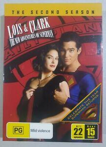 THE NEW ADVENTURES OF SUPERMAN Season 2 Region 4 TV Series Box Set DVD AS NEW