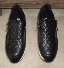 """BRAND NEW STEVE MADDEN """"SANREMO"""" BLACK SNEAKERS SHOES SIZE 8 1/2 MSRP $90.00"""