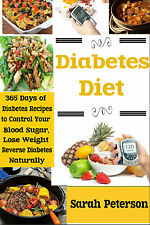 Diabetes Diet Cookbook: 365 Diabetes Recipes to Control Your Blood Sugar
