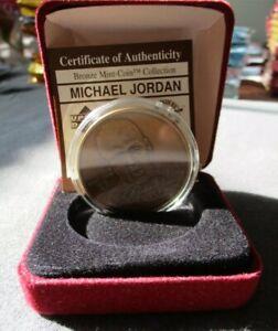 MICHAEL JORDAN 1997 Highland Mint Upper Deck BRONZE COIN Limited Edition