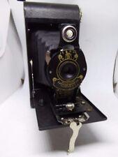 Antique 1910s No 2 Folding Autographic Brownie Kodak A120 Film Camera