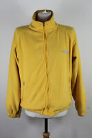 THE NORTH FACE Summit Series HyVent Yellow Fleece Zip Up Jumper size S