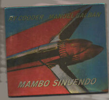 RY COODER MANUEL GALBAN MAMBO SINUENDO  CD + OUTER CARDBOARD SLEEVE